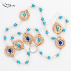 Shell eyeglass necklace