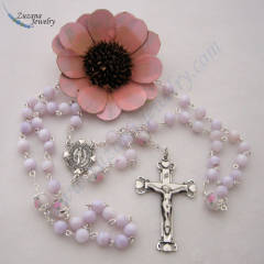 Mother of pearl handmade rosary