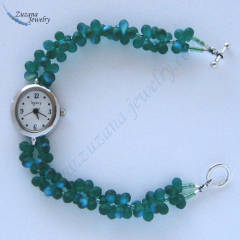 Emerald AB glass watch